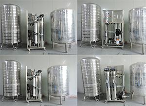 0.5吨纯水整套设备