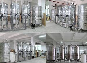 三级软化水净水设备(不